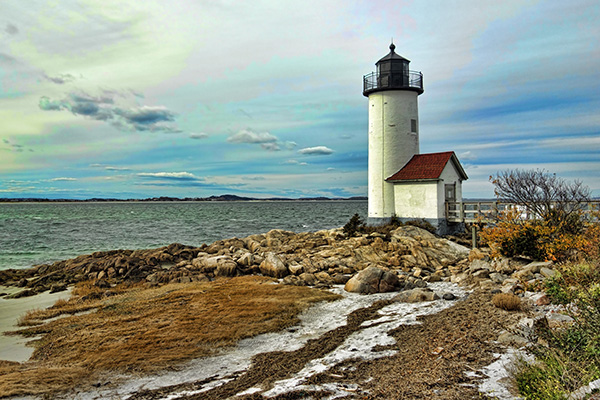 Gloucester, Massachusetts Lighthouse by David Thomas